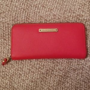 Vince Camuto Red Coral color wallet